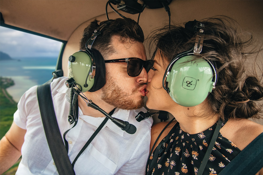 Oahu Romantic Helicopter Charter