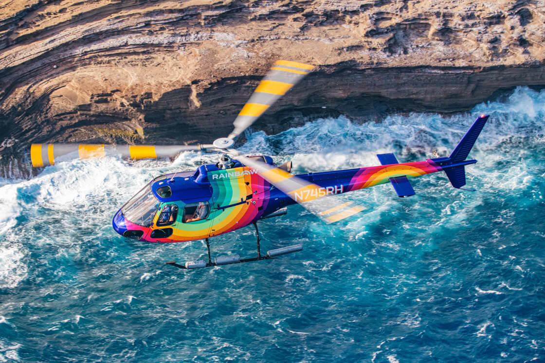 Rainbow Oahu Helicopter Tours - Luxury Picnic
