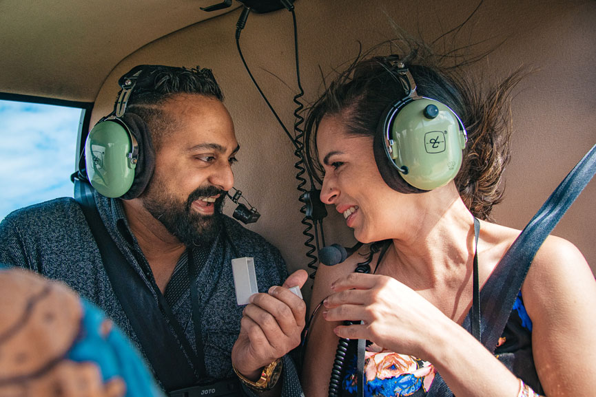 Proposal helicopter tour