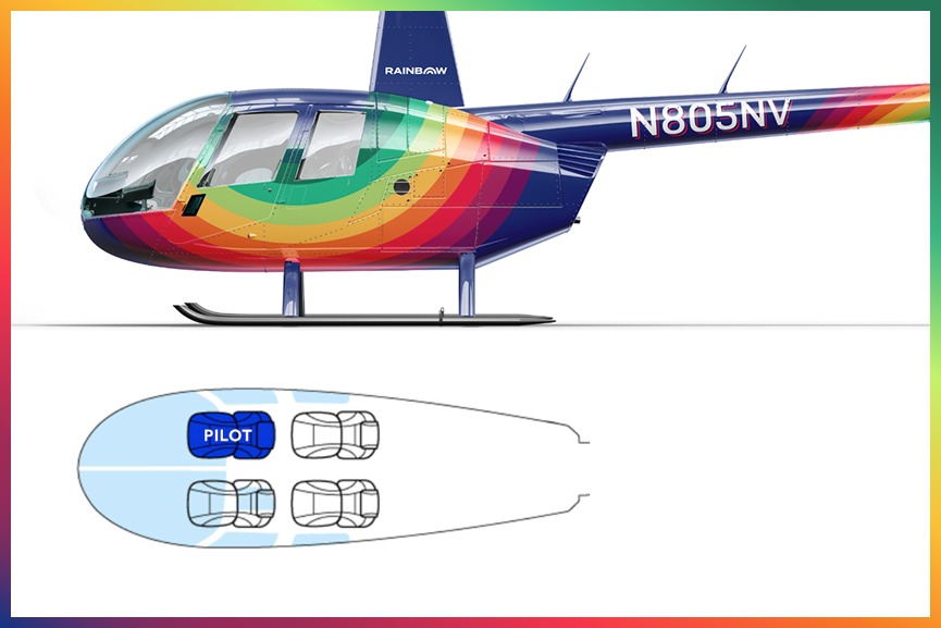 Rainbow Helicopters R44 Seating Chart