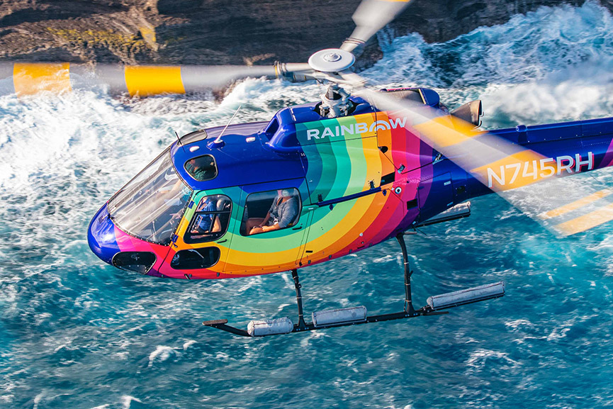 Welcome To Rainbow Helicopters!